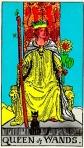 RWS Queen of Wands