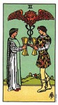 Two of Cups - Rider Waite