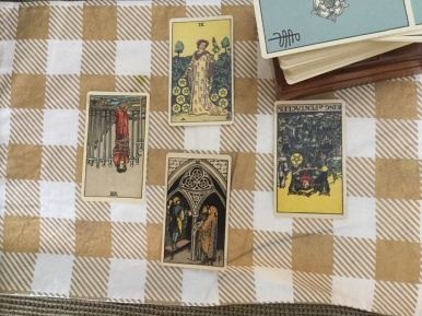 tarot spread - back at it